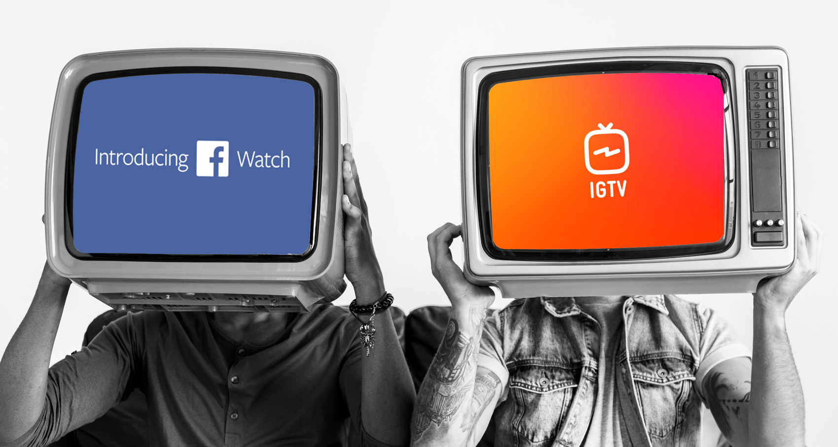 Image result for igtv vs facebook watch