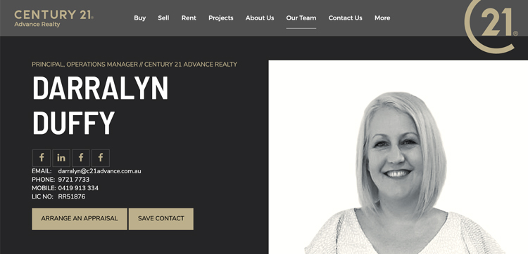 Darralyn Duffy Real Estate